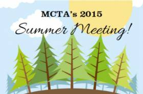 MCTA's 2015 Summer Meeting